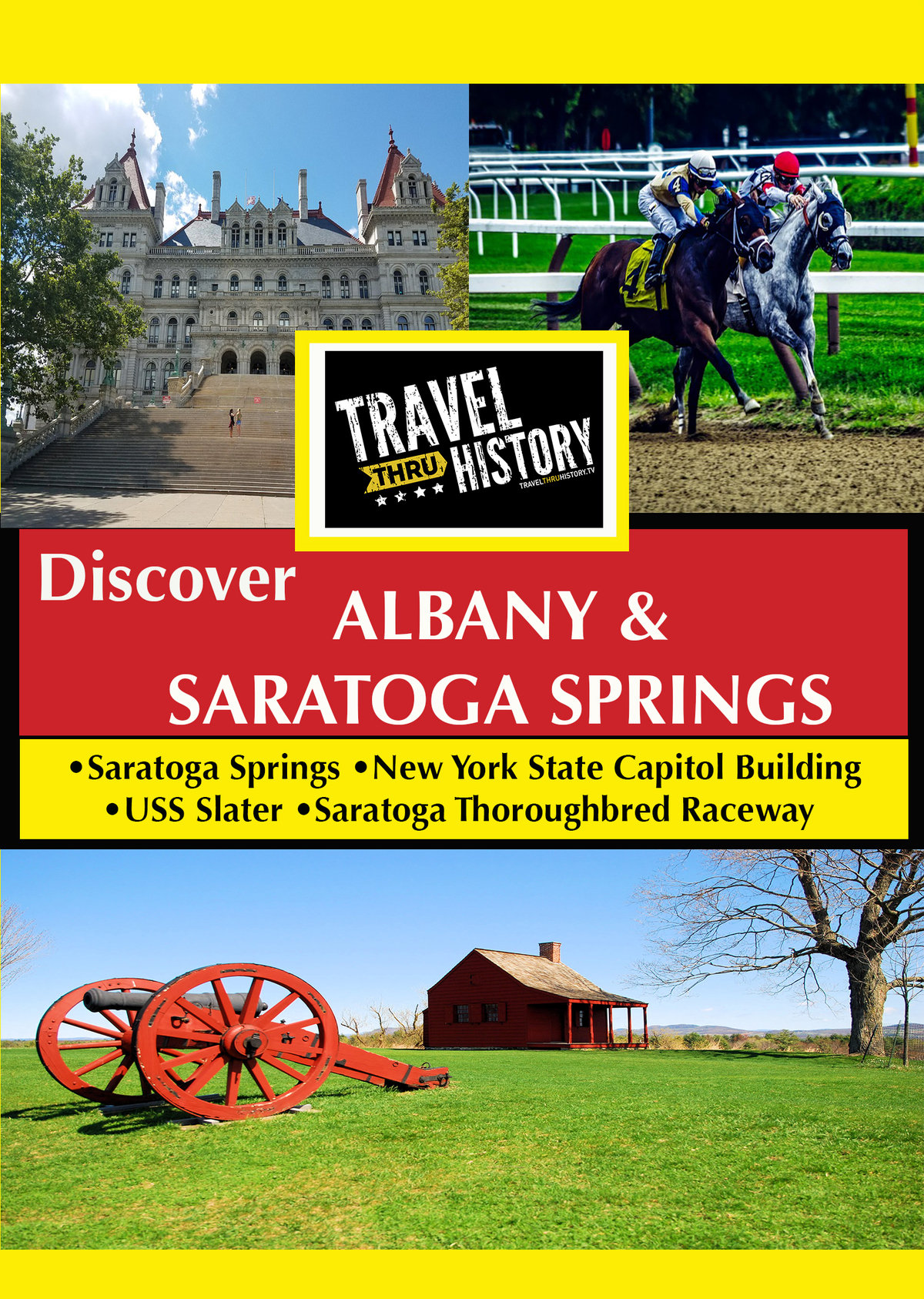 T8976 - Discover Albany & Saratoga Springs