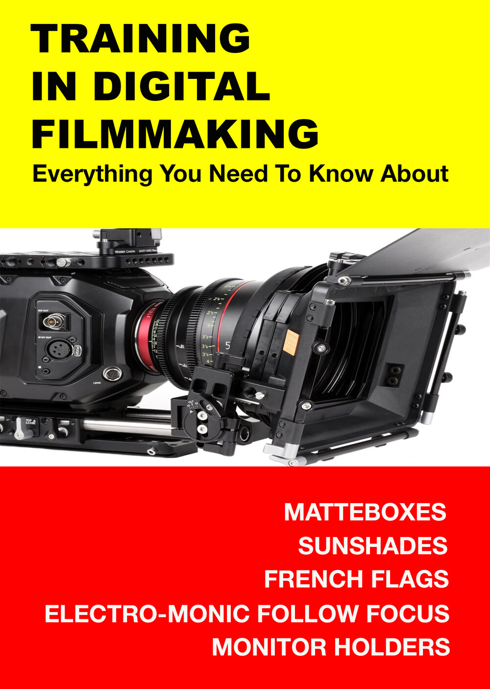 F3000 - Everything You Need to Know About Matteboxes, Sunshades, French Flags, Electro-Monic Follow Focus & Monitor Holders