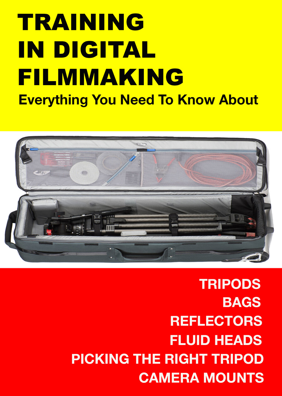 F3001 - Everything You Need to Know About Tripods, Bags, Reflectors, Fluid Heads, Picking the Right Tripod, Camera Mounts