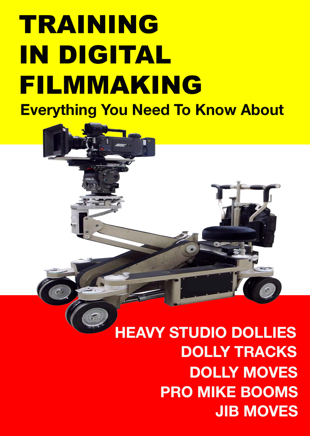 F3002 - Everything You Need to Know About Heavy Studio Dollies, Dolly Tracks, Dolly Moves Pro Mike Booms and Jib Moves