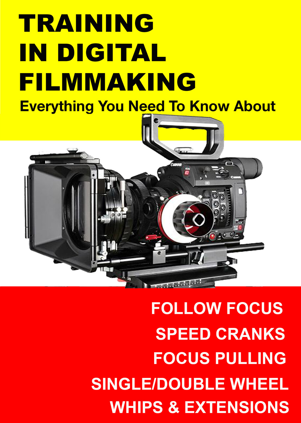 F3005 - Everything you Need to Know About Follow Focus, Speed Cranks, Focus Pulling, Whips & Extensions