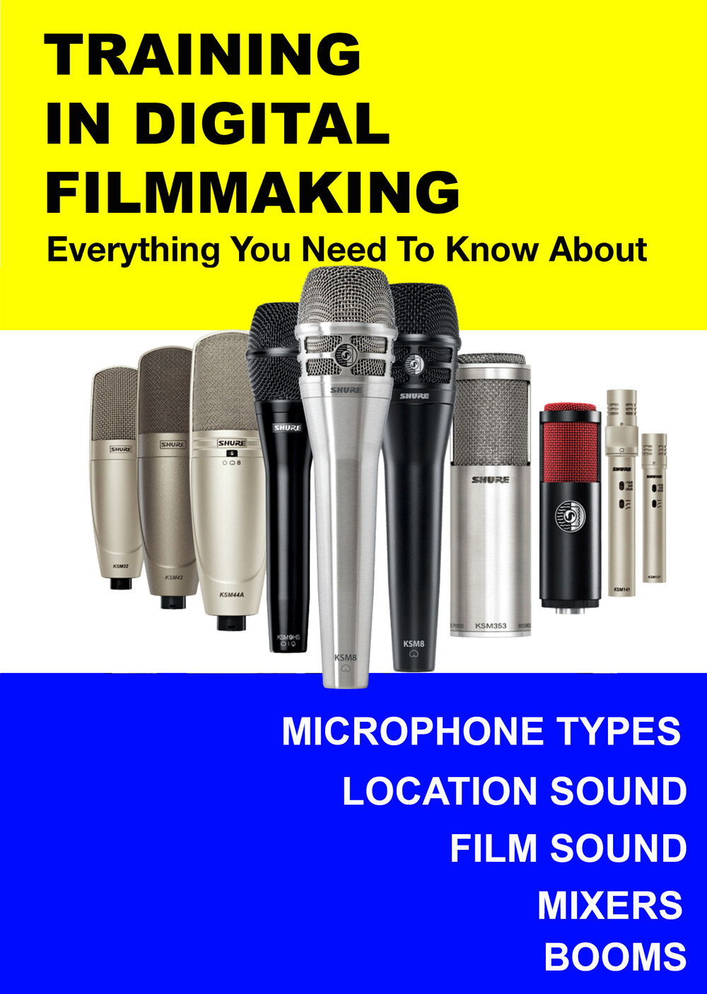 F3012 - Everything you Need to Know About Intermediate Audio - Microphones, Location Sound, Film Sound, Mixers, & Booms
