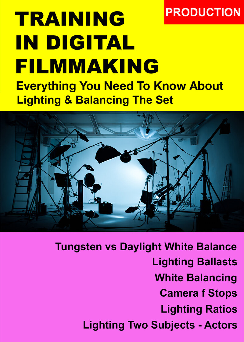 F3024 - Everything You Need To Know About Basic Film Production - Lighting and Balancing The Set, Lamps, Flags & F-Stops