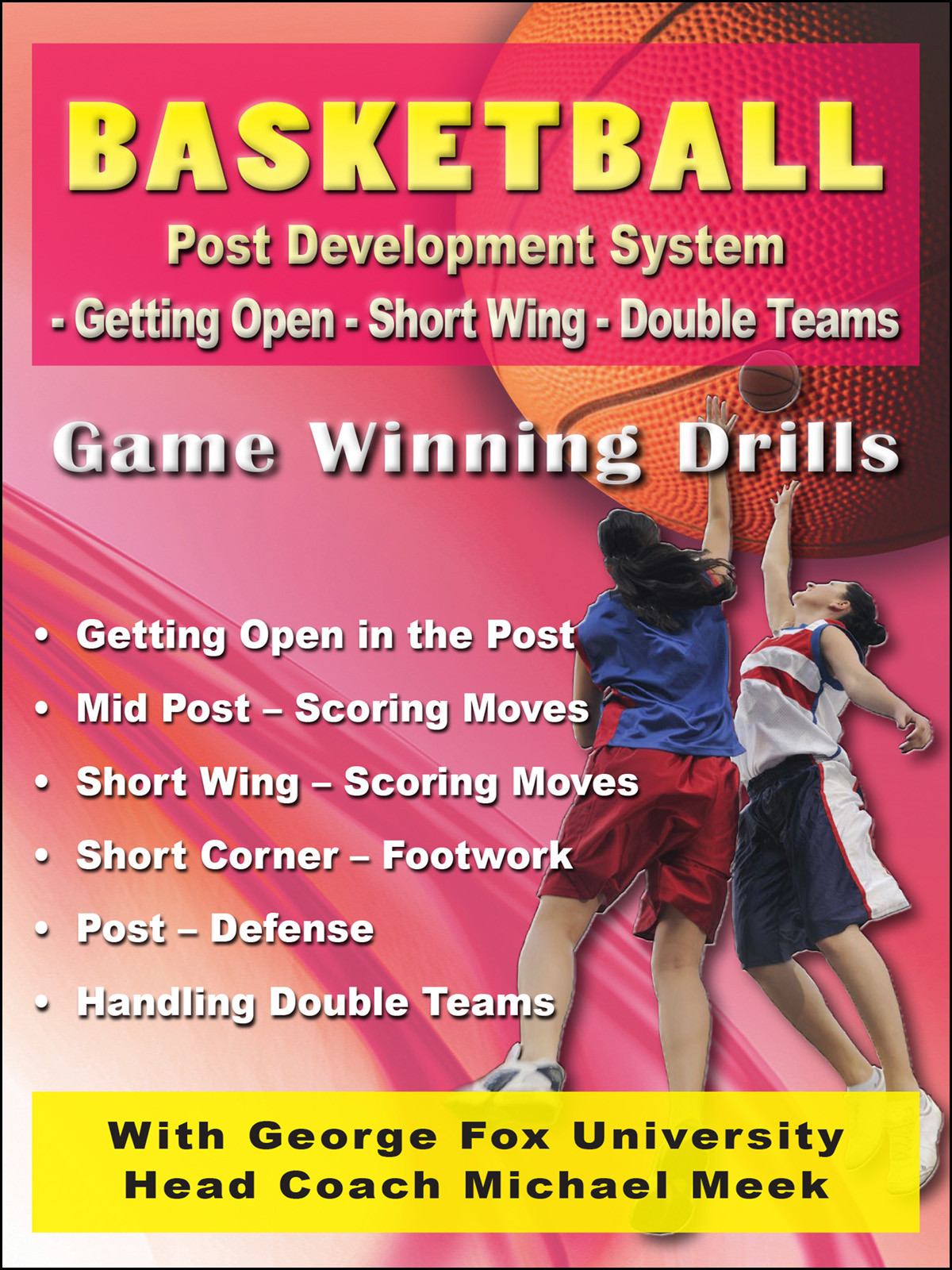 K4209 - Basketball Post Development System - Getting Open-Short Wing-Double Teams