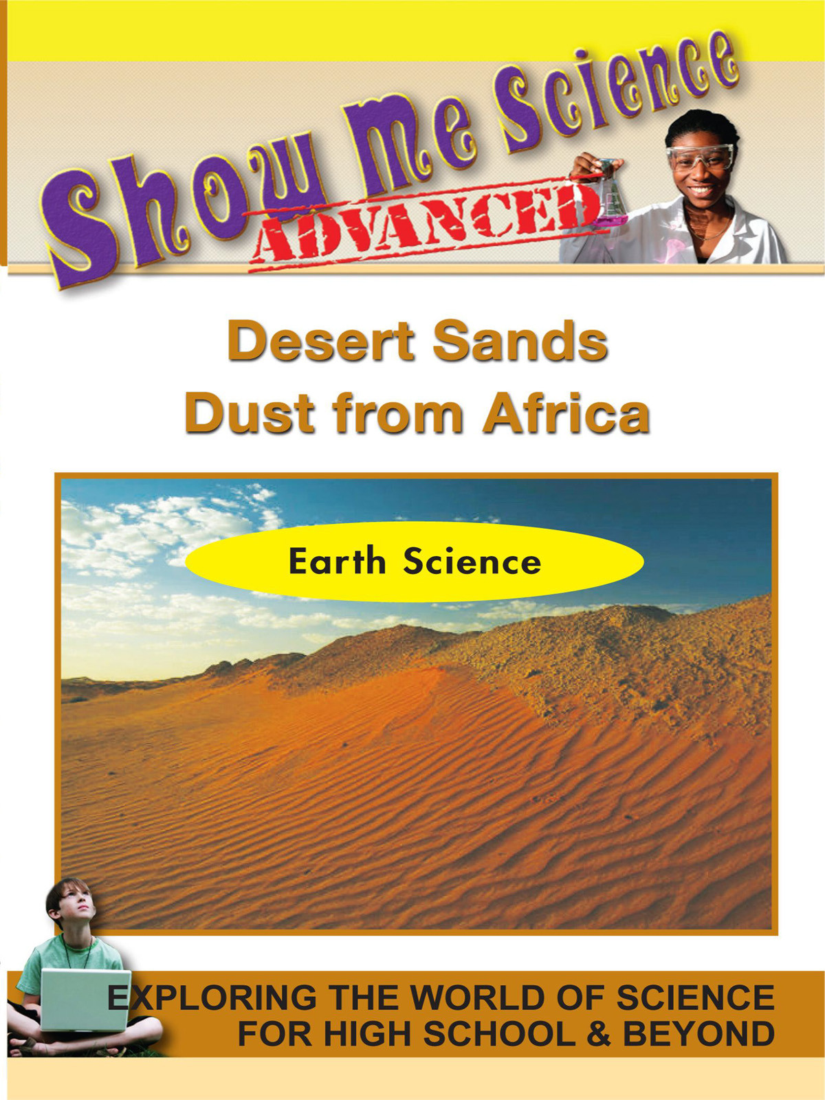 K4629 - Earth Science Desert Sands  Dust from Africa