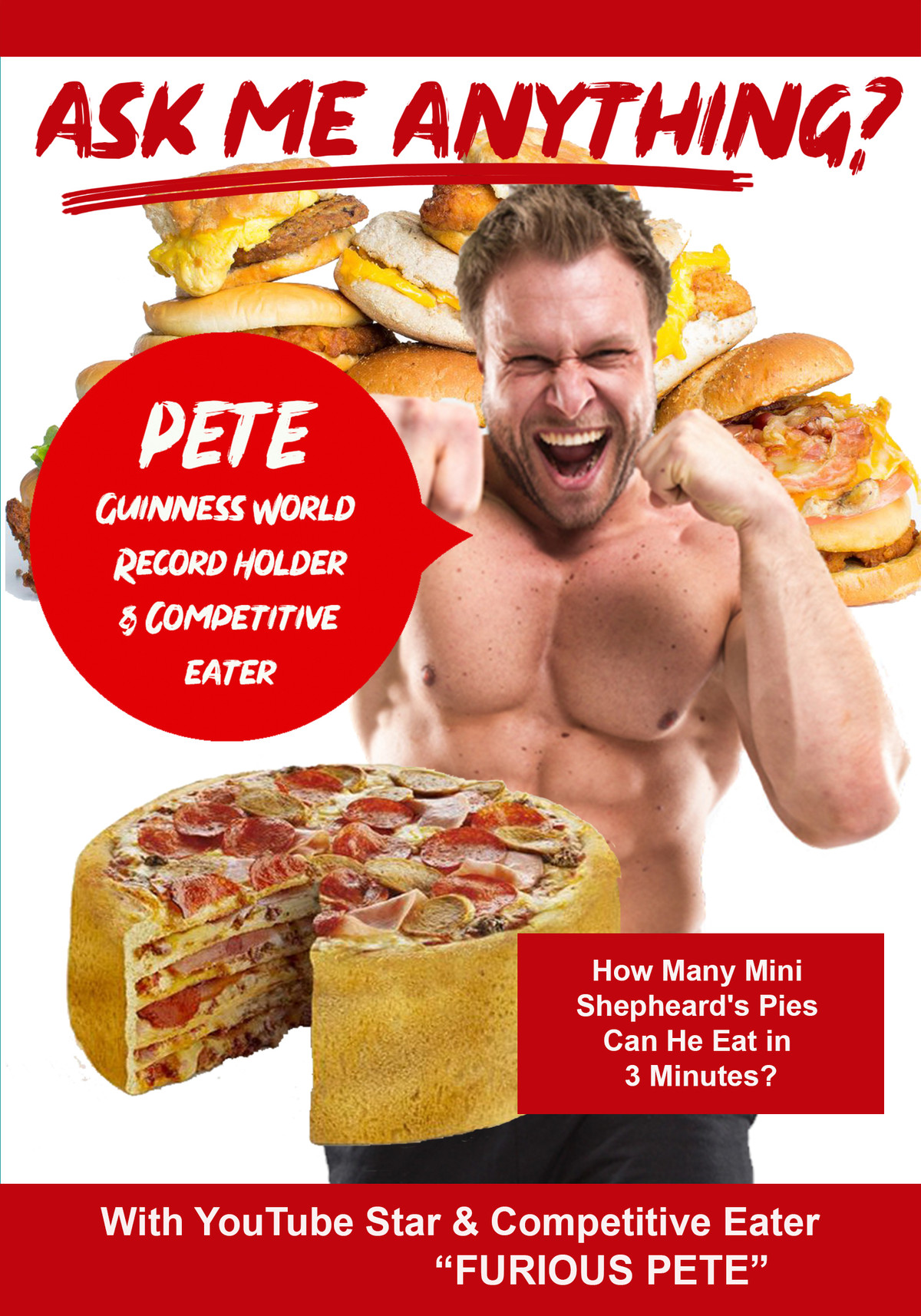 K4834 - Ask Me Anything about being a YouTube Star & Competitive Eater with Furious Pete