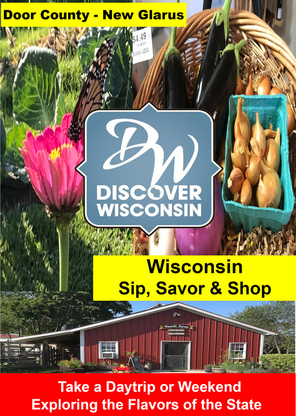 K5011 - Wisconsin - Sip, Savor & Shop