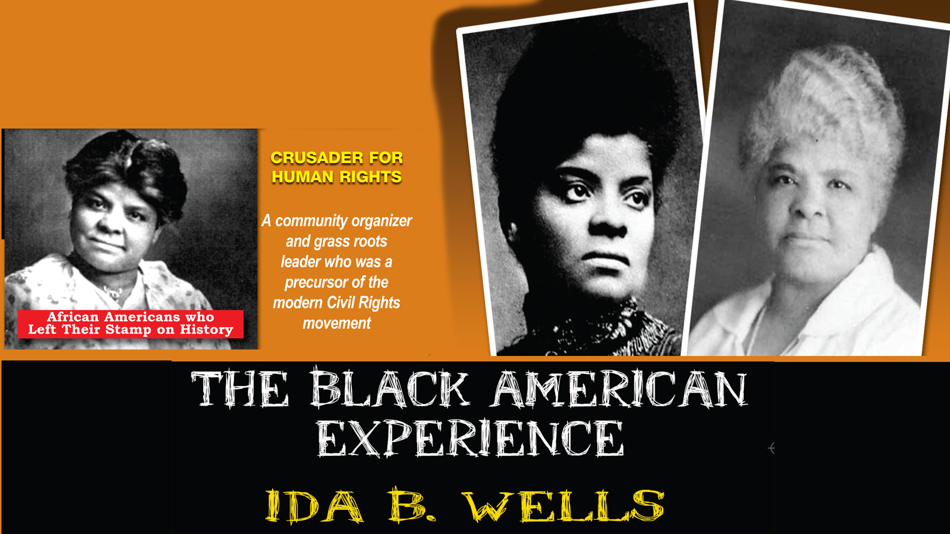 L5730 - Ida B. Wells Crusader For Human Rights