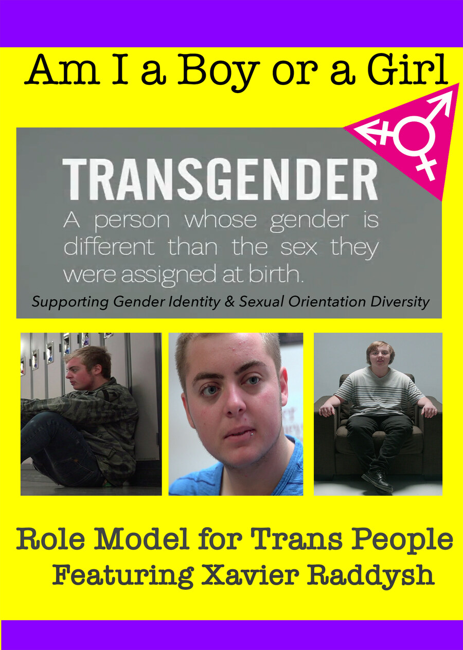 T8995 - Am I A Boy of Girl Featuring Xavier Raddysh - Role Model for Trans People