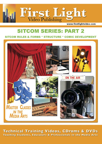 F1198 - Sitcom Series Sitcom Rules & Forms, Structure & Comic Development