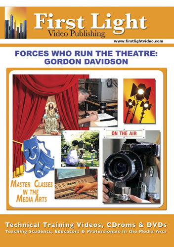 F2639 - Producing For The Theater  Forces Who Run The Theater with Gordon Davidson