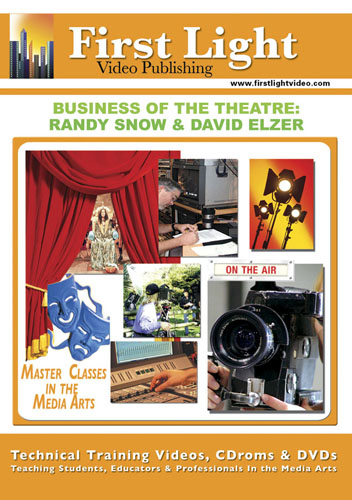 F2642 - Producing For The Theater  Business Of The Theater Randy Snow, David Elzer