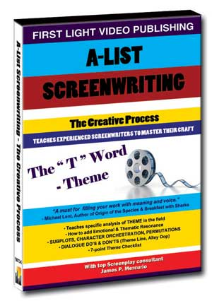 "F2687 - Screenwriting The ""T"" Word Theme"