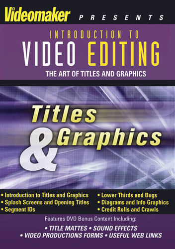 F817 - Video Editing Titles & Graphics