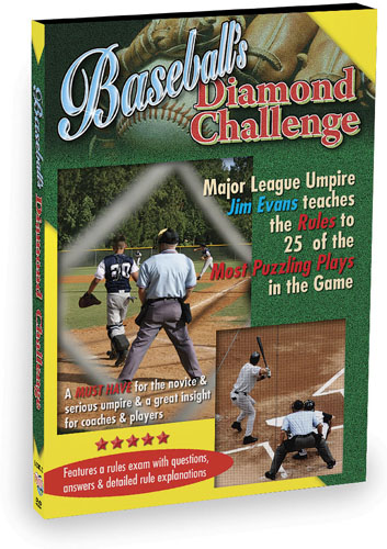 K4258 - Baseball's Diamond Challenge Learn the Rules to Some of the Most Puzzling Plays in the Game