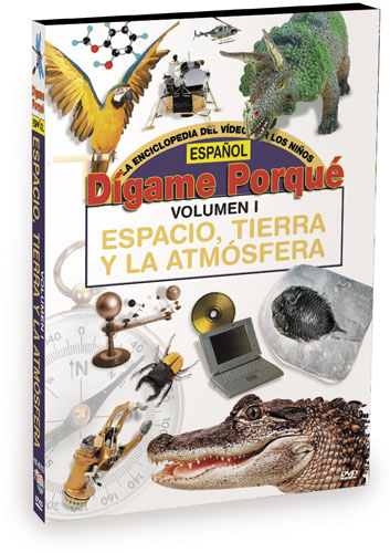 K6205 - Tell Me Why Space Earth and Atmosphere Spanish