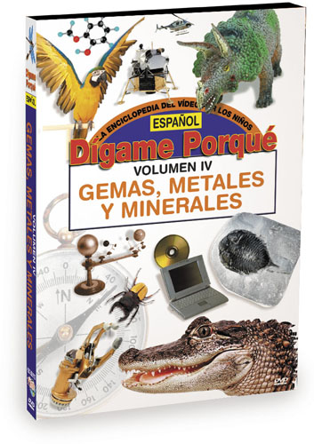 K6235 - Tell Me Why Gems Metals And Minerals  Spanish