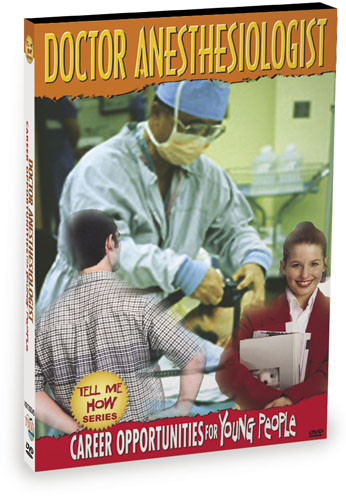 K9136 - Tell Me How Career Series Doctor Anesthesiologist