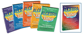 KA306 - Algebra Tutor Series 5 Set Collection Includes Volumes 1 - 5