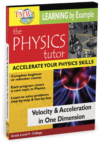 KA8561 - Velocity and Acceleration In One Dimension