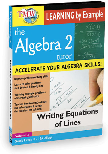 KA8637 - Writing Equations Of Lines