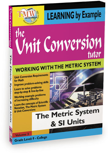 KA8651 - Unit Conversion TutorThe Metric System and SI Units