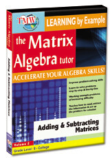 KA8784 - Adding & Subtracting Matrices