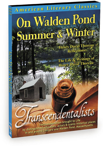L4817 - American Literary Classics The Transcendentalists On Walden Pond, Summer & Winter Henry David Thoreau Reflections The Life & Writings of Henry David Thoreau