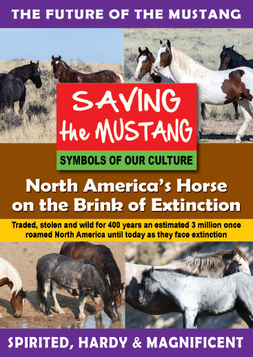 K4713 - Saving the Mustang North America's Horse on the Brink of Extinction