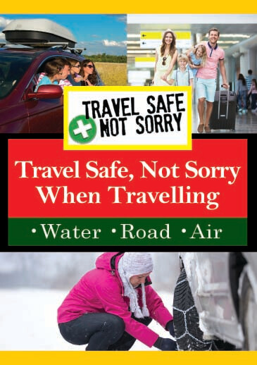 T8934 - Travel Safe, Not Sorry